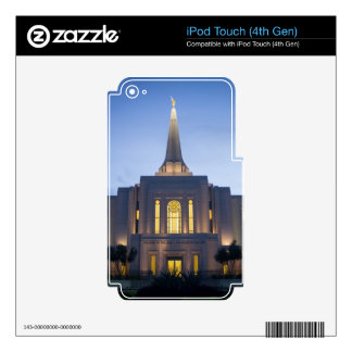 GIlbert Arizona LDS Temple Decals For iPod Touch 4G