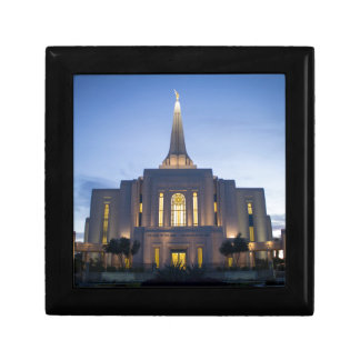 GIlbert Arizona LDS Temple Keepsake Box