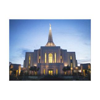 Gilbert Arizona LDS Temple on Canvas