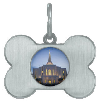 GIlbert Arizona LDS Temple Pet ID Tag
