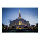 Gilbert Arizona LDS Temple Poster