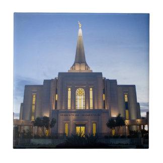 GIlbert Arizona LDS Temple Tile