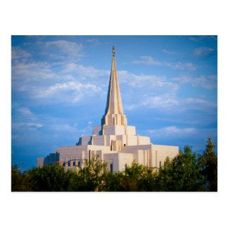Gilbert Arizona Temple Postcard