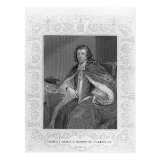 Gilbert Burnet, obispo de Salisbury Postal