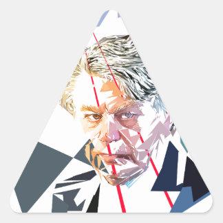 Gilbert Collard Triangle Sticker