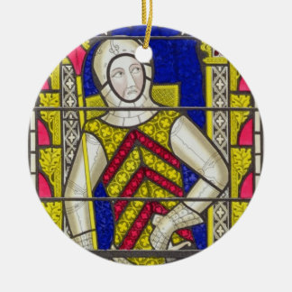 Gilbert de Clare, 3rd Earl of Gloucester (1243-95) Ceramic Ornament