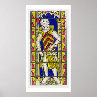 Gilbert de Clare, 3rd Earl of Gloucester (1243-95) Poster