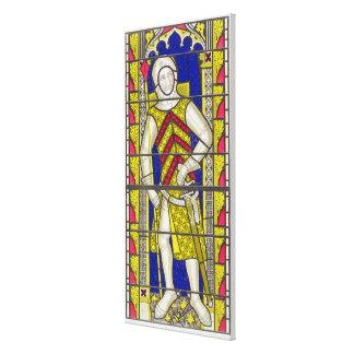 Gilbert de Clare, 3ro conde de Gloucester (1243-95 Impresión En Lienzo