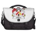 Gilbert Family Crest Laptop Bags