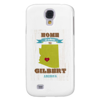 Gilbert, mapa de Arizona - casero es donde está el Funda Para Galaxy S4