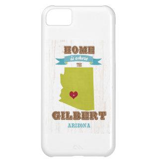 Gilbert, mapa de Arizona - casero es donde está el Funda Para iPhone 5C