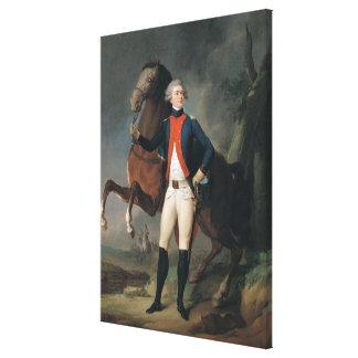 Gilbert Motier  Marquis de la Fayette, 1788 Canvas Print