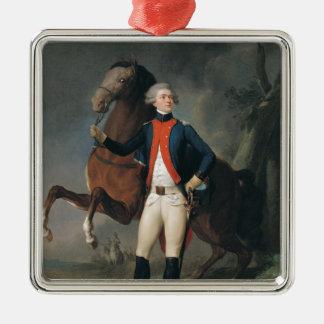 Gilbert Motier  Marquis de la Fayette, 1788 Metal Ornament