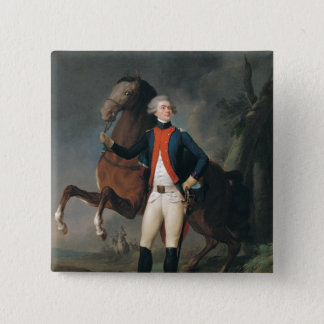 Gilbert Motier  Marquis de la Fayette, 1788 Pinback Button