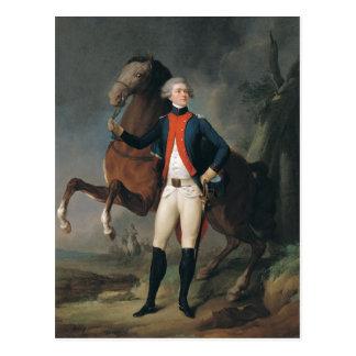Gilbert Motier  Marquis de la Fayette, 1788 Postcard