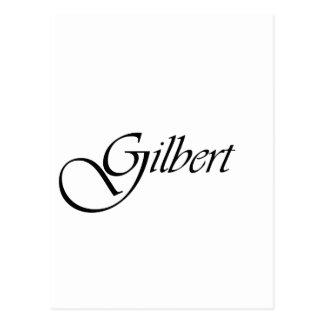 Gilbert Postcard