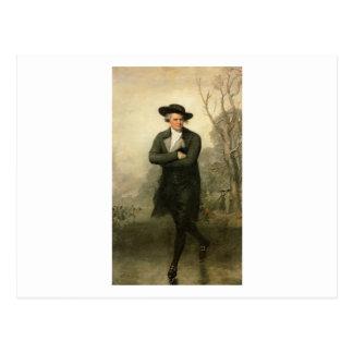 Gilbert Stuart The Skater William Grant Portrait Postcard