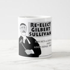 Gilbert Sullivan Jumbo Mug at Zazzle
