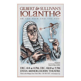 Gilbert & Sullivan's Iolanthe Print