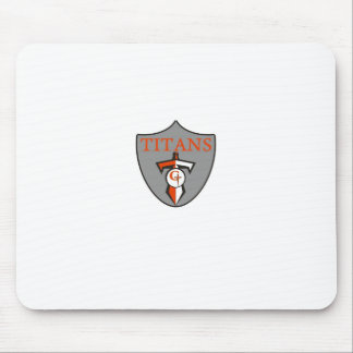 Gilbert Youth Football League Titans Mouse Pad