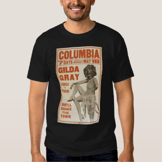 Gilda Gray herself in person (poster) 1920s Shirt