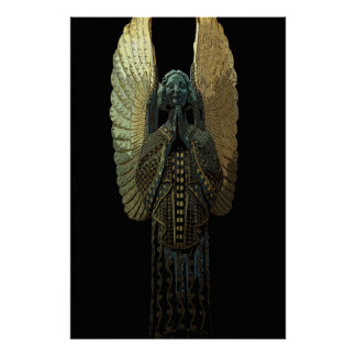 Gilded Angel 36 x 24 Poster