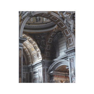 Gilded Arches Canvas Prints