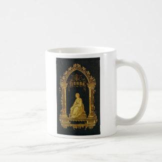 Gilded Book Cover Antique Jewish Prayer Book Hanna Mug