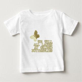 Gilded Butterflies Baby T-Shirt