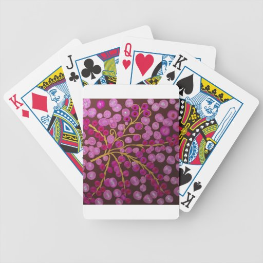 Gilded Flowers Bicycle Poker Deck