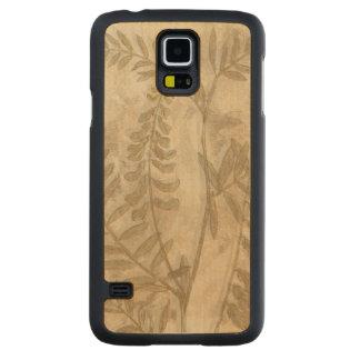 Gilded Foliage I Carved® Maple Galaxy S5 Slim Case