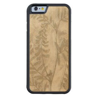 Gilded Foliage I Carved® Maple iPhone 6 Bumper