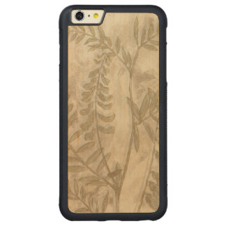 Gilded Foliage I Carved® Maple iPhone 6 Plus Bumper