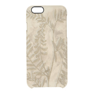 Gilded Foliage I Clear iPhone 6/6S Case