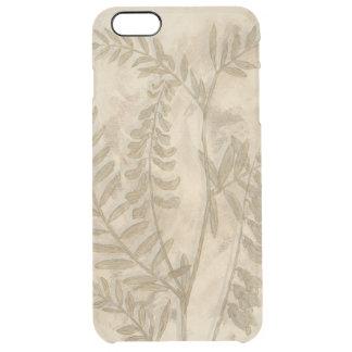Gilded Foliage I Clear iPhone 6 Plus Case