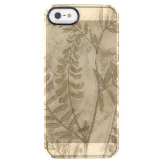 Gilded Foliage I Clear iPhone SE/5/5s Case