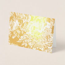 Gilded Happiness Foil Cards