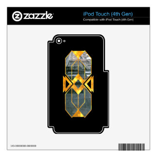 Gilded Streets Decals For iPod Touch 4G