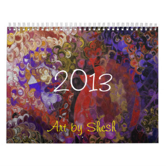 Gildedesigns 2013 Calender Calendar