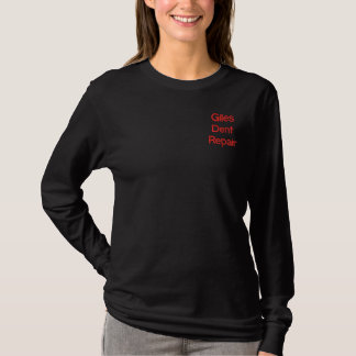 Giles Dent Repair Embroidered Long Sleeve T-Shirt