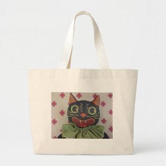 Giles the Happy Cat Tote Bag