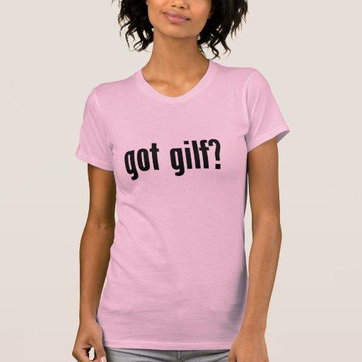 ¿gilf conseguido? camisetas