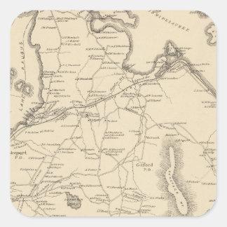 Gilford, Belknap Co Square Sticker