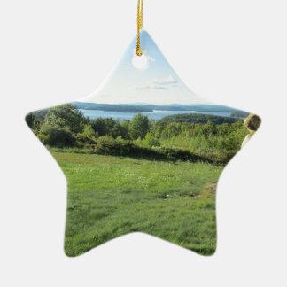 Gilford New Hampshire Ceramic Ornament