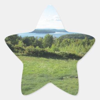 Gilford New Hampshire Star Sticker