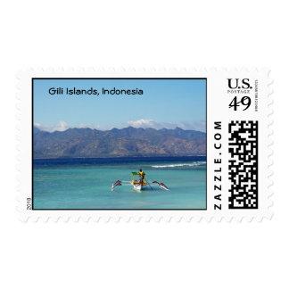 Gili Island Boat Postage