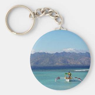 Gili Islands Boat Key Chain