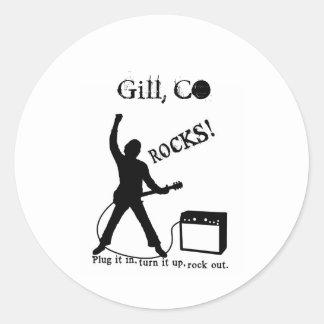 Gill, CO Classic Round Sticker