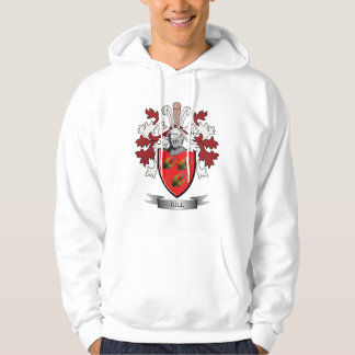 Gill Family Crest Coat of Arms Hoodie