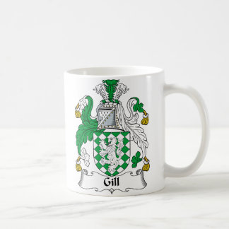 Gill Family Crest Coffee Mug